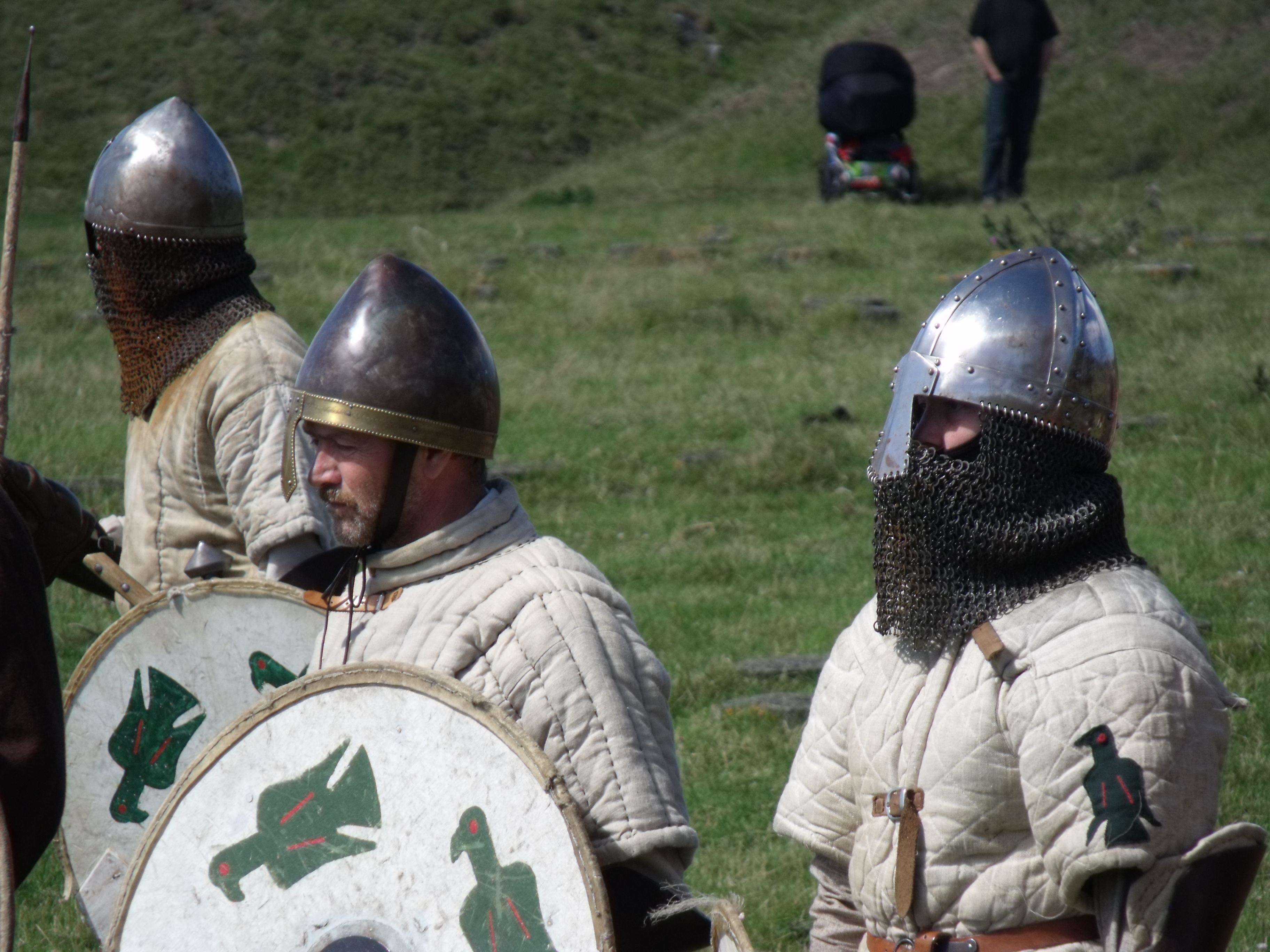 Training vor der Schlacht