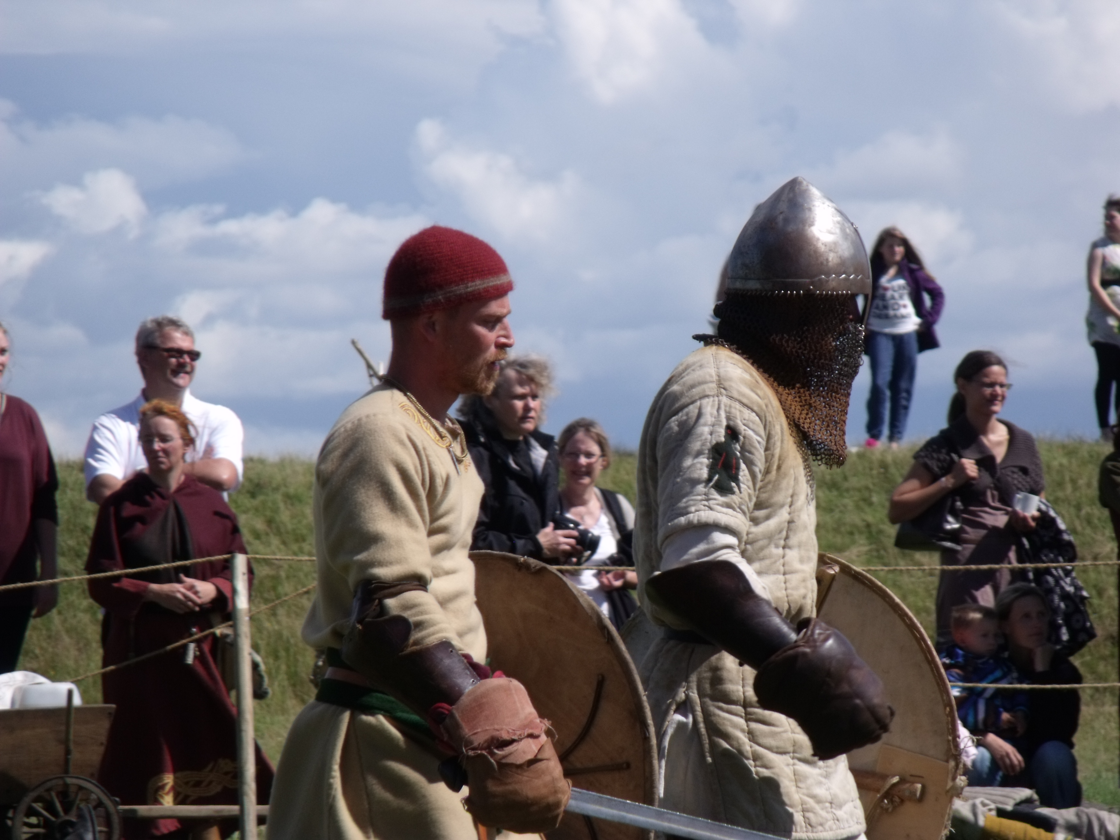 In die Schlacht rennen, nach der Schlacht schlendern wir ;)